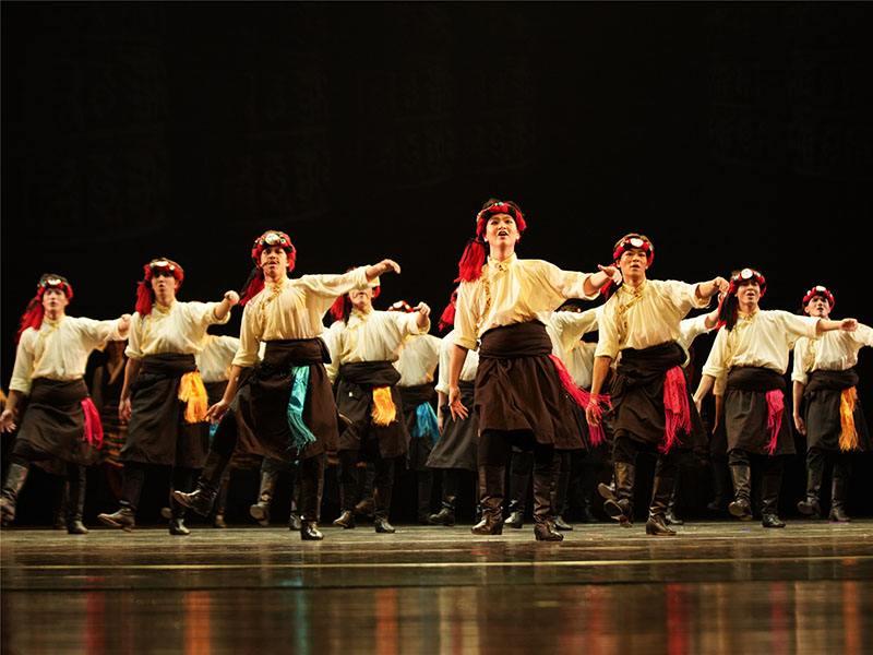 走进舞蹈艺考之民族民间舞|藏族