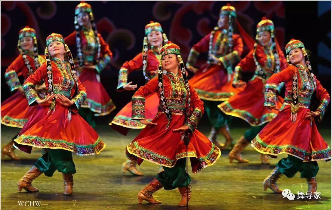 舞蹈艺考之民族民间舞 蒙古族